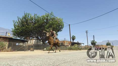 GTA 5 Ride A Deer [.NET] 0.2b fourth screenshot