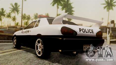 Elegy Saitama Prefectural Police for GTA San Andreas left view