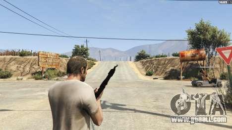 GTA 5 Scar-H fourth screenshot