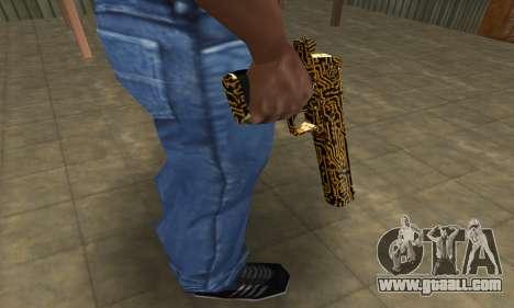 Microshem Deagle for GTA San Andreas