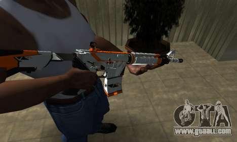 M4 Asiimov for GTA San Andreas