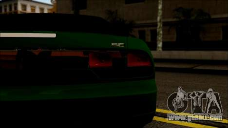 Nissan 240SX S13 for GTA San Andreas back view