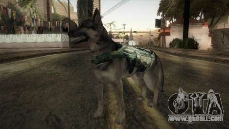COD Ghosts - Riley Skin for GTA San Andreas second screenshot