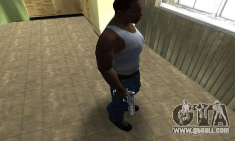 Flowers Deagle for GTA San Andreas third screenshot