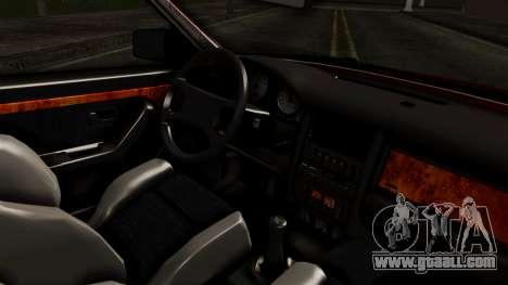 Audi 200 Quattro for GTA San Andreas right view