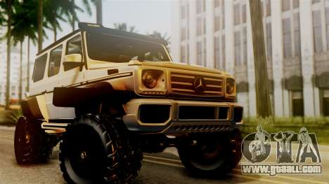 Mercedes-Benz G500 4x4 for GTA San Andreas