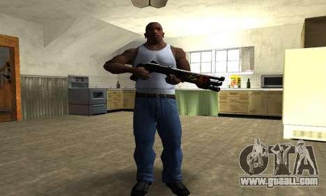 Flame Shotgun for GTA San Andreas third screenshot