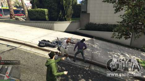 GTA 5 AngryPeds second screenshot