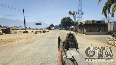 GTA 5 Halo UNSC: Assault Rifle eighth screenshot