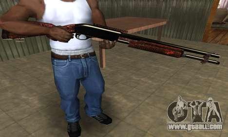 Very Big Shotgun for GTA San Andreas