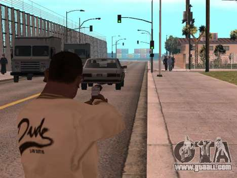 Cleo Weapon Zoom for GTA San Andreas second screenshot
