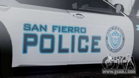 Hunter Citizen Police SF IVF for GTA San Andreas right view
