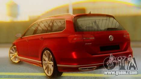 Volkswagen Passat Variant R-Line for GTA San Andreas left view