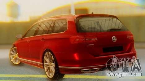 Volkswagen Passat Variant R-Line for GTA San Andreas left view