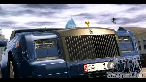 Rolls-Royce Phantom 2013 Coupe v1.0 for GTA 4 back view