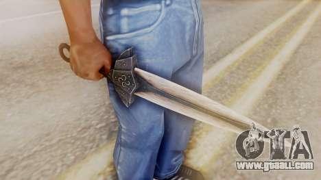 Dragon Dagger for GTA San Andreas second screenshot