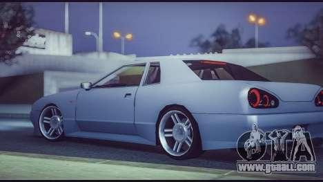 Elegy Lumus for GTA San Andreas left view
