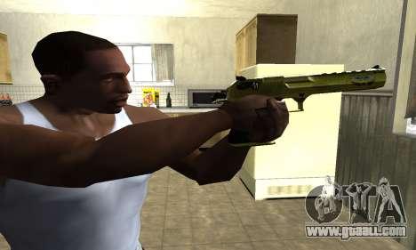 Sponge Bob Deagle for GTA San Andreas second screenshot