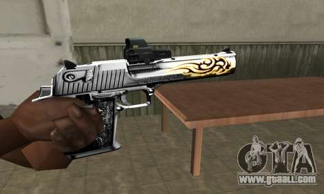 Flame Deagle for GTA San Andreas
