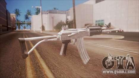 Galil AR v2 from Battlefield Hardline for GTA San Andreas second screenshot
