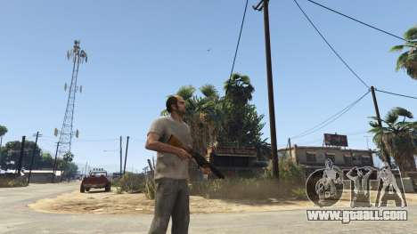 GTA 5 Mob of the Dead Blundergat