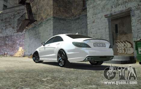 Mercedes-Benz CLS 63 AMG for GTA 4 left view