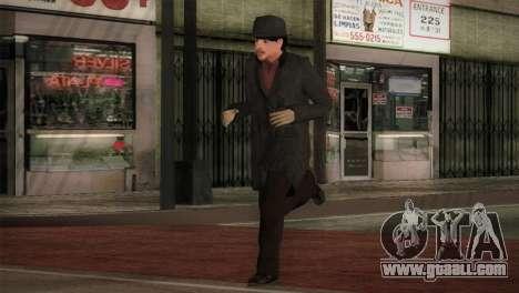 Sherlock Holmes v2 for GTA San Andreas