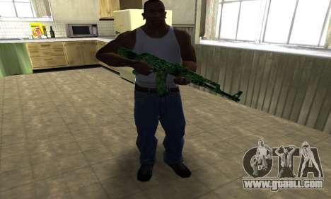 Ganja АК-47 for GTA San Andreas third screenshot