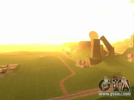 Green desert Las Venturas v2.0 for GTA San Andreas second screenshot
