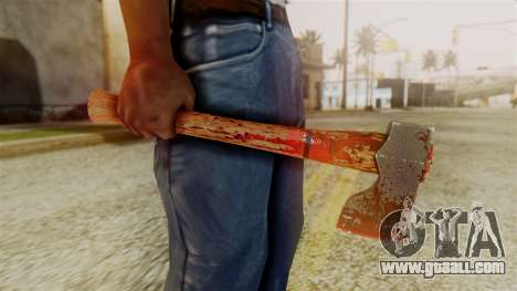 GTA 5 Hatchet v2 for GTA San Andreas third screenshot