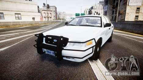 Ford Crown Victoria Bohan Police [ELS] unmarked for GTA 4