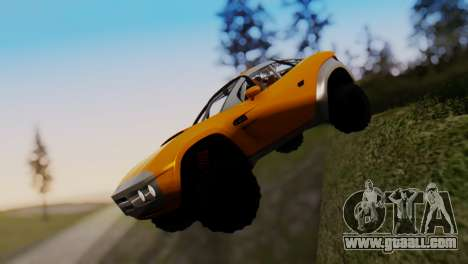 Coil Brawler Gotten Gains for GTA San Andreas inner view