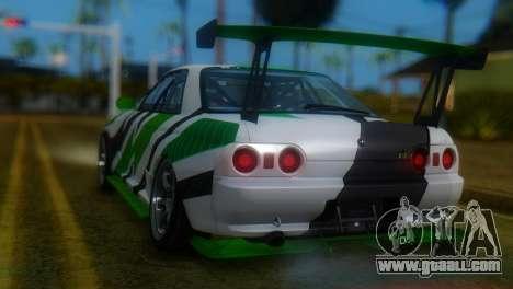 Nissan Skyline GT-R R32 for GTA San Andreas