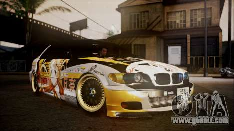 BMW 325t E46 LCI SAO Itasha for GTA San Andreas