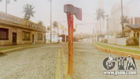 GTA 5 Hatchet v2 for GTA San Andreas second screenshot