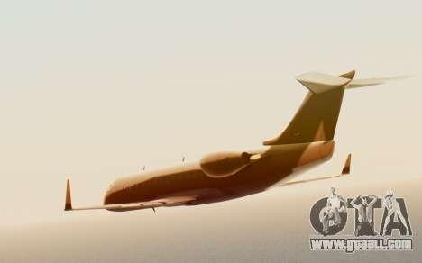 Buckingham Starjet v1.0 for GTA San Andreas back left view