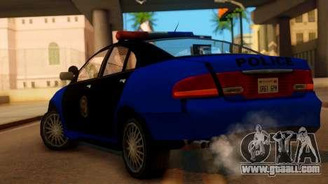 Police HSV VT GTS SA Style for GTA San Andreas left view