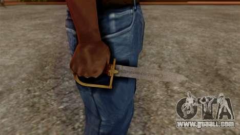 GTA 5 Antique Cavalry Dagger v1 for GTA San Andreas third screenshot