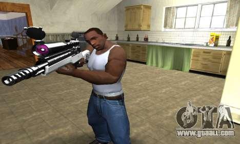 Bitten Sniper Rifle for GTA San Andreas second screenshot