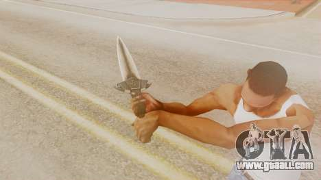 Dragon Dagger for GTA San Andreas third screenshot