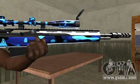 Water Sniper Rifle for GTA San Andreas second screenshot