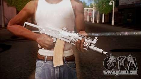 AKC-47У from Battlefield Hardline for GTA San Andreas third screenshot