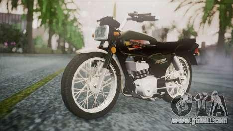 Suzuki AX 100 for GTA San Andreas