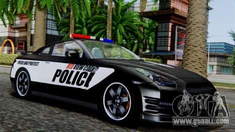 NFS Rivals Nissan GT-R R35 for GTA San Andreas
