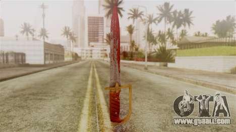 GTA 5 Antique Cavalry Dagger v2 for GTA San Andreas second screenshot
