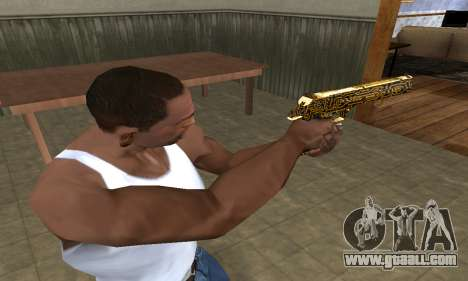 Microshem Deagle for GTA San Andreas second screenshot