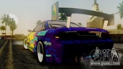 Nissan Silvia S14 Kouki Matt Faileds for GTA San Andreas left view