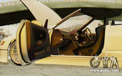 Nissan Silvia S13 for GTA San Andreas inner view