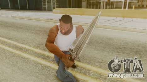 Steel Dagger for GTA San Andreas third screenshot