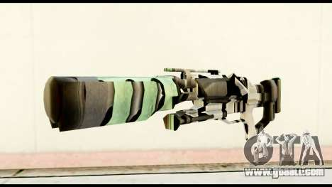 Rocket Launcher from Crysis 2 for GTA San Andreas